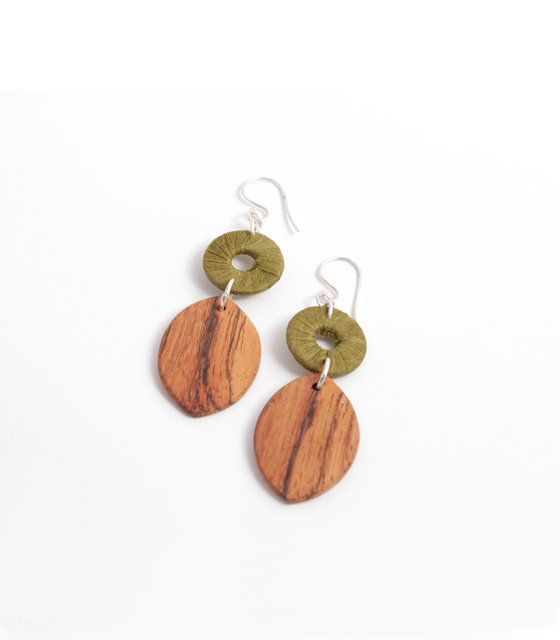 Turning Leaf Earrings