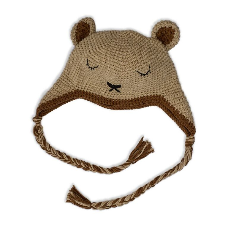 Sleepy Bear Samnang Hat Cambodia Knits
