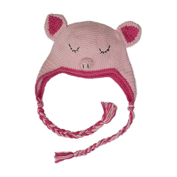 Pig Hat Cambodia Knits